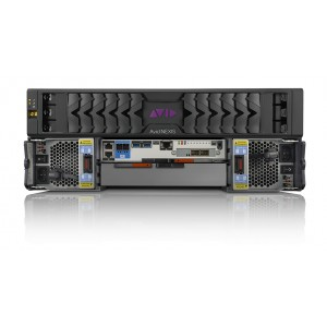 Avid NEXIS | PRO 40TB Engine with Dell N2024 Switch, 3m direct attach (twinax) cable, 2-user axle Starter™ Pack