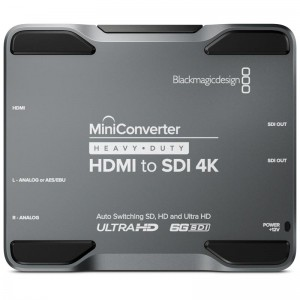 Mini Converter H/Duty - HDMI to SDI 4K