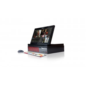 Portable all-in-one live production switcher HD500