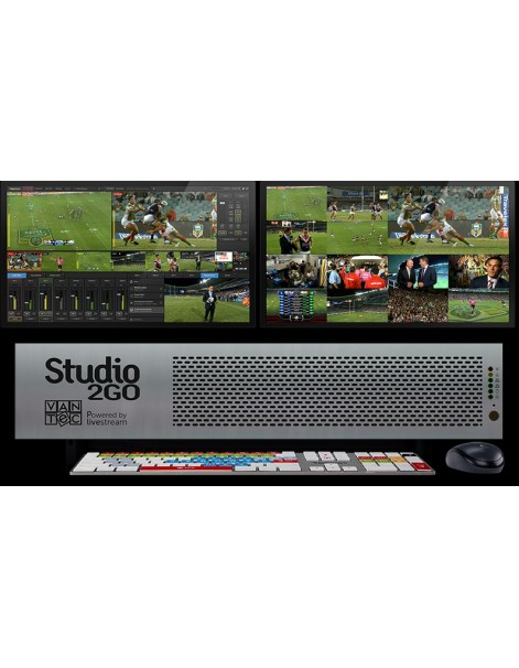 Studio2Go Broadcast 4 In's & 1 Out SDI/HDMI
