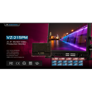 "21.5"" 3G/HD/HDMI Production Monitor (2 I/P)"